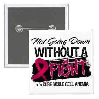Sickle Cell Anemia Not Going Down 2 Inch Square Button