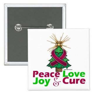 Sickle Cell Anemia Peace Love Joy Cure Button