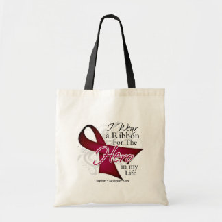Sickle Cell Anemia Ribbon Hero in My Life Tote Bag