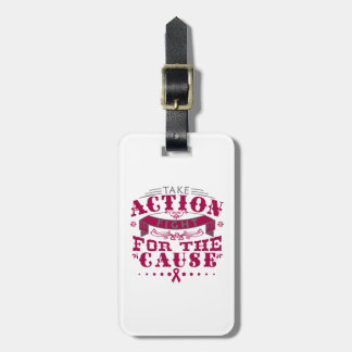 Sickle Cell Anemia Take Action Fight For The Cause Tag For Luggage