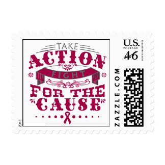 Sickle Cell Anemia Take Action Fight For The Cause Stamps