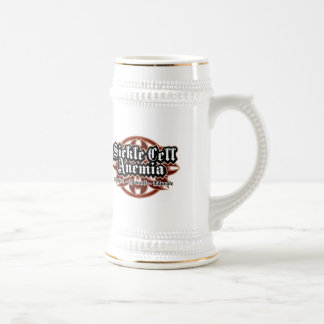 Sickle Cell Anemia Tribal Beer Stein
