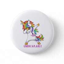 Sickle Cell Anemia Warrior Unbreakable Button
