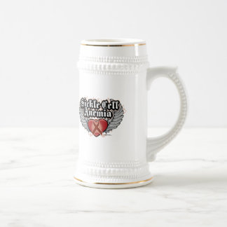 Sickle Cell Anemia Wings Beer Stein