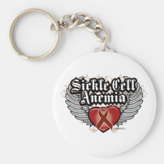 Sickle Cell Anemia Wings Keychains