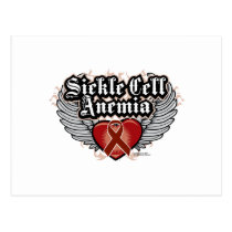 Sickle Cell Anemia Wings Postcard