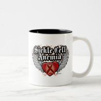 Sickle Cell Anemia Wings Two-Tone Coffee Mug