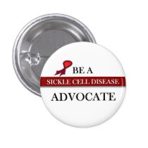Sickle Cell Awareness Pinback Button