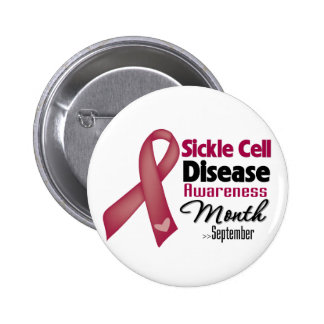 Sickle Cell Disease Awareness Month 2 Inch Round Button