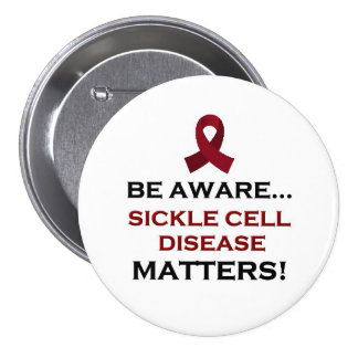 Sickle Cell Disease Awareness, Support and Healing Pins