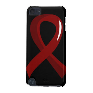 Sickle Cell Disease Burgundy Ribbon 3 iPod Touch 5G Case