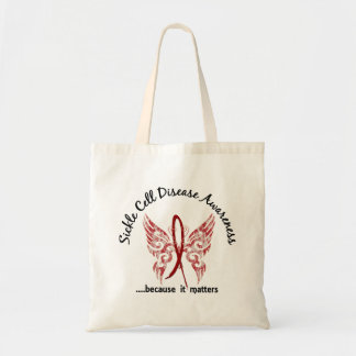 Sickle Cell Disease Butterfly 6.1 Tote Bag