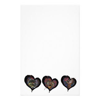 Sickle Cell Heart  Art Stationery