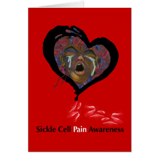 Sickle Cell Pain Awareness Greeting Card