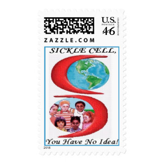 Sickle Cell You Have No Idea Postage Stamp