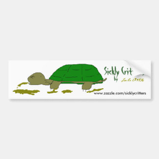 Sickly Critters Bumper Sticker Car Bumper Sticker