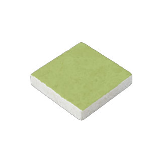 Sickly Green color Stone Magnet