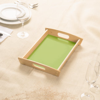 Sickly Green color Food Trays