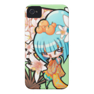 """Sickly Sweet""  OC Geisha Case-Mate iPhone 4 Case"
