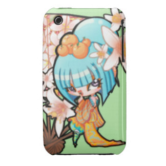 """Sickly Sweet"" OC Geisha iPhone 3 Cover"