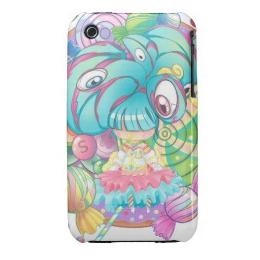 Sickly Sweet Treat iPhone 3 Cases