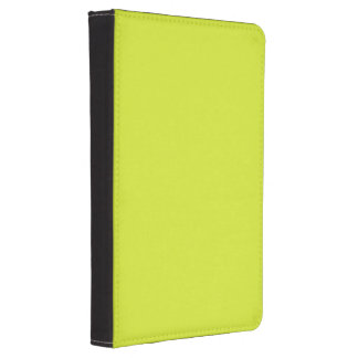 Sickly Yellow colored Kindle Touch Cover