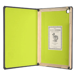 Sickly Yellow colored Cover For iPad Air