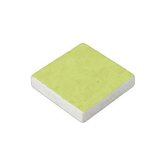 Sickly Yellow colored Stone Magnet
