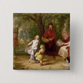 Sickness and Health, 1843 Button