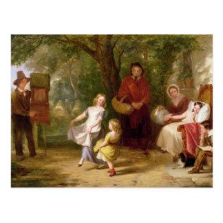 Sickness and Health, 1843 Postcard