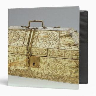 Siculo Arabic casket with animals 3 Ring Binder