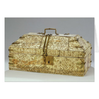Siculo Arabic casket with animals Card