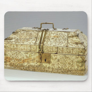 Siculo Arabic casket with animals Mouse Pad