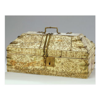 Siculo Arabic casket with animals Postcard