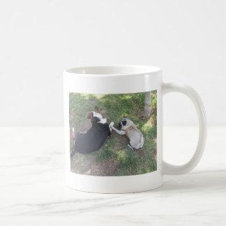 sid at the park (11) classic white coffee mug