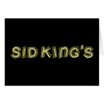 sid king's club card