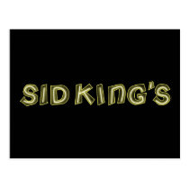 sid king's club postcard