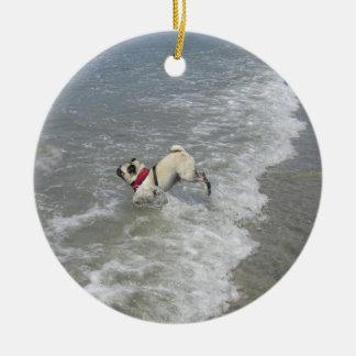 Sid la foto de la playa del barro amasado - Sid el Ornamentos De Reyes