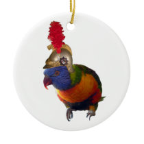 Sid Lorikeet Ceramic Ornament