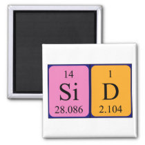 Sid periodic table name magnet