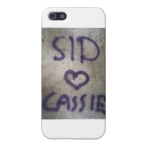 sid plus cassie iPhone SE/5/5s case