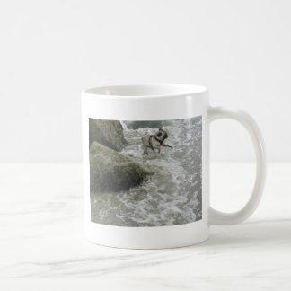 Sid Precious at the Beach Classic White Coffee Mug