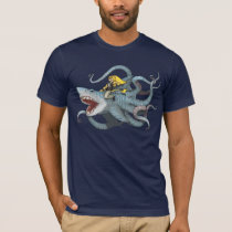 Sid riding Sharktopus T-Shirt