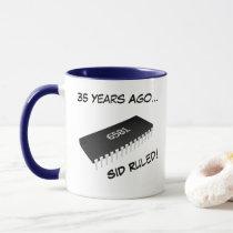 SID Ruled and 1 MHz Was Enough Mug (6581 & 6510)