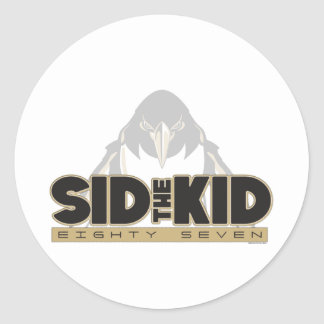 Sid the Kid Classic Round Sticker