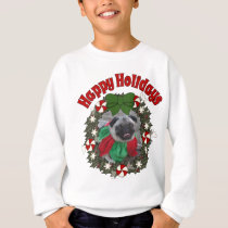 Sid the Pug Christmas Gifts Sweatshirt