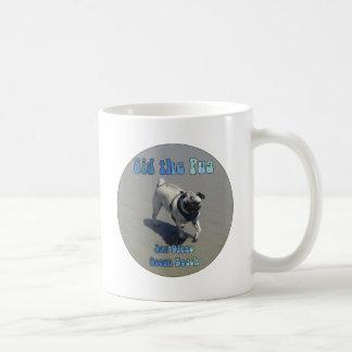 Sid the Pug Classic White Coffee Mug