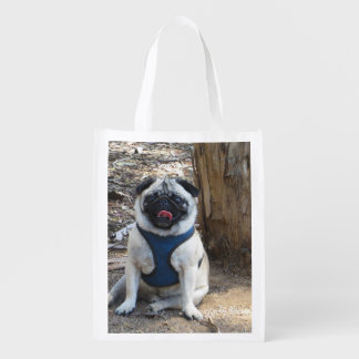 Sid the Pug Gifts and Tees Market Tote