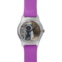 Sid the Pug Gifts and Tees Wristwatches