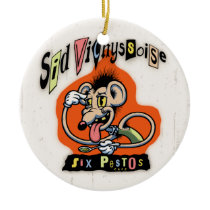 Sid Vichyssoise Ceramic Ornament
